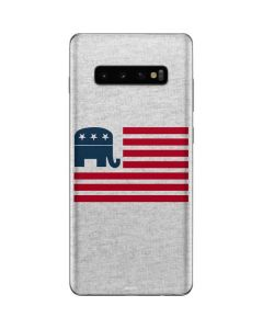 Republican American Flag Galaxy S10 Plus Skin