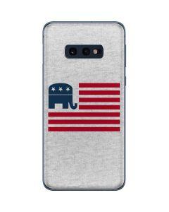 Republican American Flag Galaxy S10e Skin
