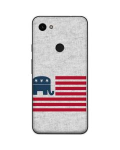 Republican American Flag Google Pixel 3a Skin