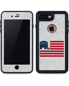 Republican American Flag iPhone 8 Plus Waterproof Case