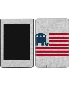 Republican American Flag Amazon Kindle Skin