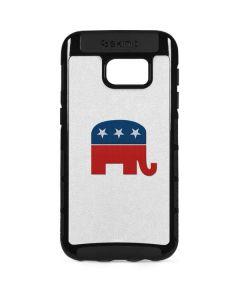 Republican Elephant Galaxy S7 Edge Cargo Case