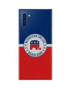 Republican For Life Galaxy Note 10 Skin