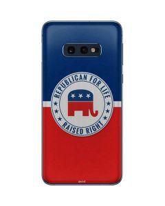 Republican For Life Galaxy S10e Skin