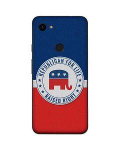 Republican For Life Google Pixel 3a Skin