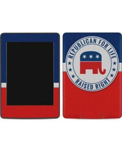 Republican For Life Amazon Kindle Skin