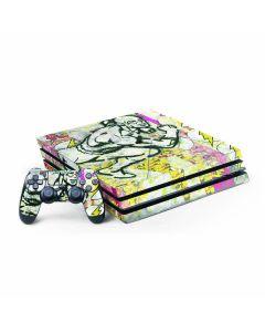 Retro Flash PS4 Pro Bundle Skin