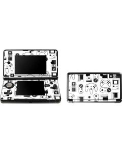 Retro Gaming Controllers 3DS (2011) Skin