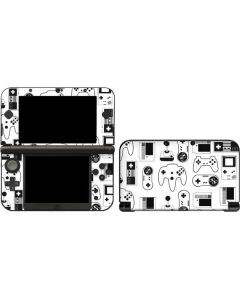 Retro Gaming Controllers 3DS XL 2015 Skin
