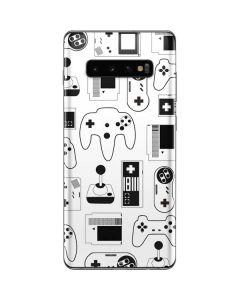 Retro Gaming Controllers Galaxy S10 Plus Skin
