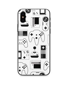 Retro Gaming Controllers iPhone X Skin
