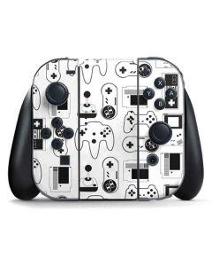 Retro Gaming Controllers Nintendo Switch Joy Con Controller Skin