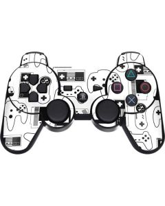 Retro Gaming Controllers PS3 Dual Shock wireless controller Skin