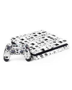 Retro Gaming Controllers PS4 Slim Bundle Skin