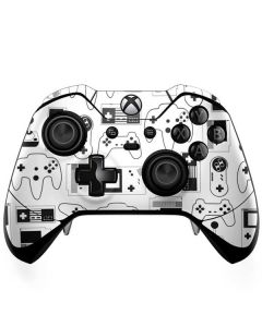 Retro Gaming Controllers Xbox One Elite Controller Skin