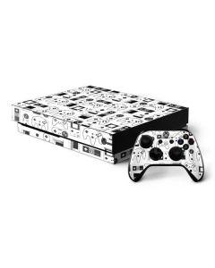 Retro Gaming Controllers Xbox One X Bundle Skin