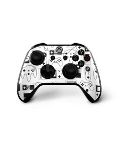 Retro Gaming Controllers Xbox One X Controller Skin