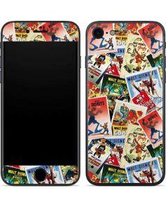 Retro Goofy Stamps iPhone 7 Skin