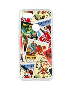 Retro Goofy Stamps Google Pixel 3 XL Clear Case