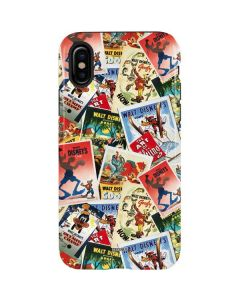 Retro Goofy Stamps iPhone X Pro Case