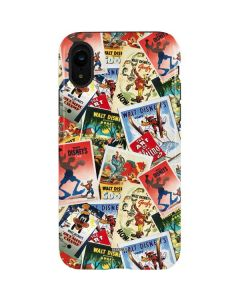 Retro Goofy Stamps iPhone XR Pro Case