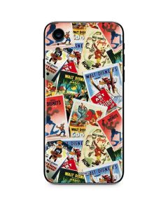 Retro Goofy Stamps iPhone XR Skin