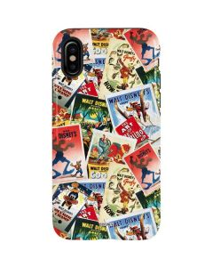 Retro Goofy Stamps iPhone XS Max Pro Case