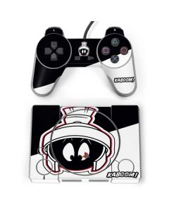 Retro Marvin The Martian PlayStation Classic Bundle Skin