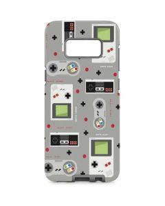 Retro Nintendo Pattern Galaxy S8 Pro Case