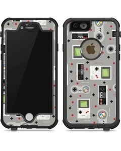 Retro Nintendo Pattern iPhone 6/6s Waterproof Case