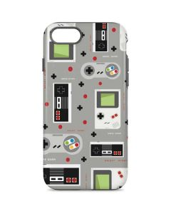 Retro Nintendo Pattern iPhone 7 Pro Case
