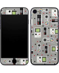 Retro Nintendo Pattern iPhone 7 Skin