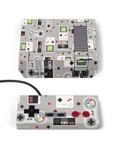 Retro Nintendo Pattern NES Classic Edition Skin