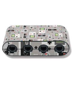 Retro Nintendo Pattern Nintendo GameCube Controller Adapter Skin