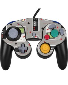 Retro Nintendo Pattern Nintendo GameCube Controller Skin