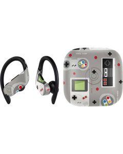 Retro Nintendo Pattern PowerBeats Pro Skin