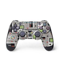 Retro Nintendo Pattern PS4 Pro/Slim Controller Skin
