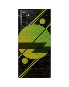 Retro Space Galaxy Note 10 Skin