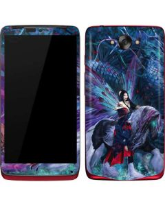 Ride of the Yokai Fairy and Dragon Motorola Droid Skin