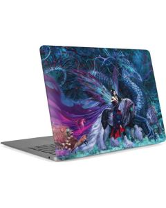 Ride of the Yokai Fairy and Dragon Apple MacBook Air Skin