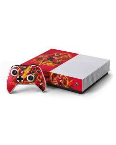 Ripped Flash Xbox One S Console and Controller Bundle Skin