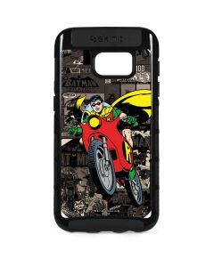 Robin Mixed Media Galaxy S7 Edge Cargo Case