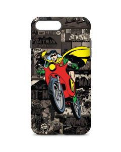 Robin Mixed Media iPhone 8 Plus Pro Case