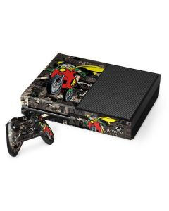Robin Mixed Media Xbox One Console and Controller Bundle Skin