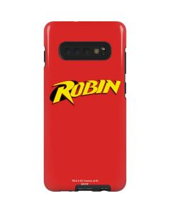 Robin Official Logo Galaxy S10 Plus Pro Case