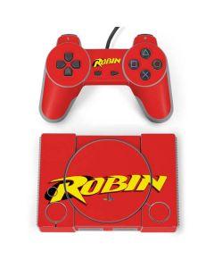 Robin Official Logo PlayStation Classic Bundle Skin
