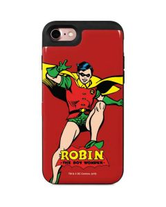 Robin Portrait iPhone 8 Wallet Case