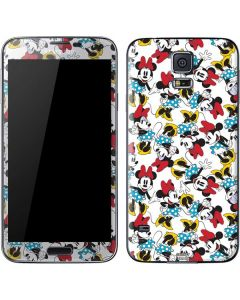 Rockin Minnie Mouse Galaxy S5 Skin