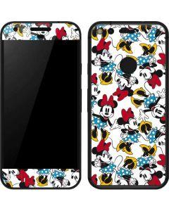 Rockin Minnie Mouse Google Pixel Skin