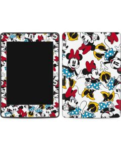 Rockin Minnie Mouse Amazon Kindle Skin